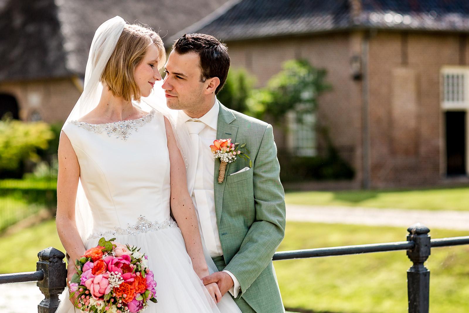 Bruidsfotografie Havezate Den Berg   Dalfsen   Henri & Jorien