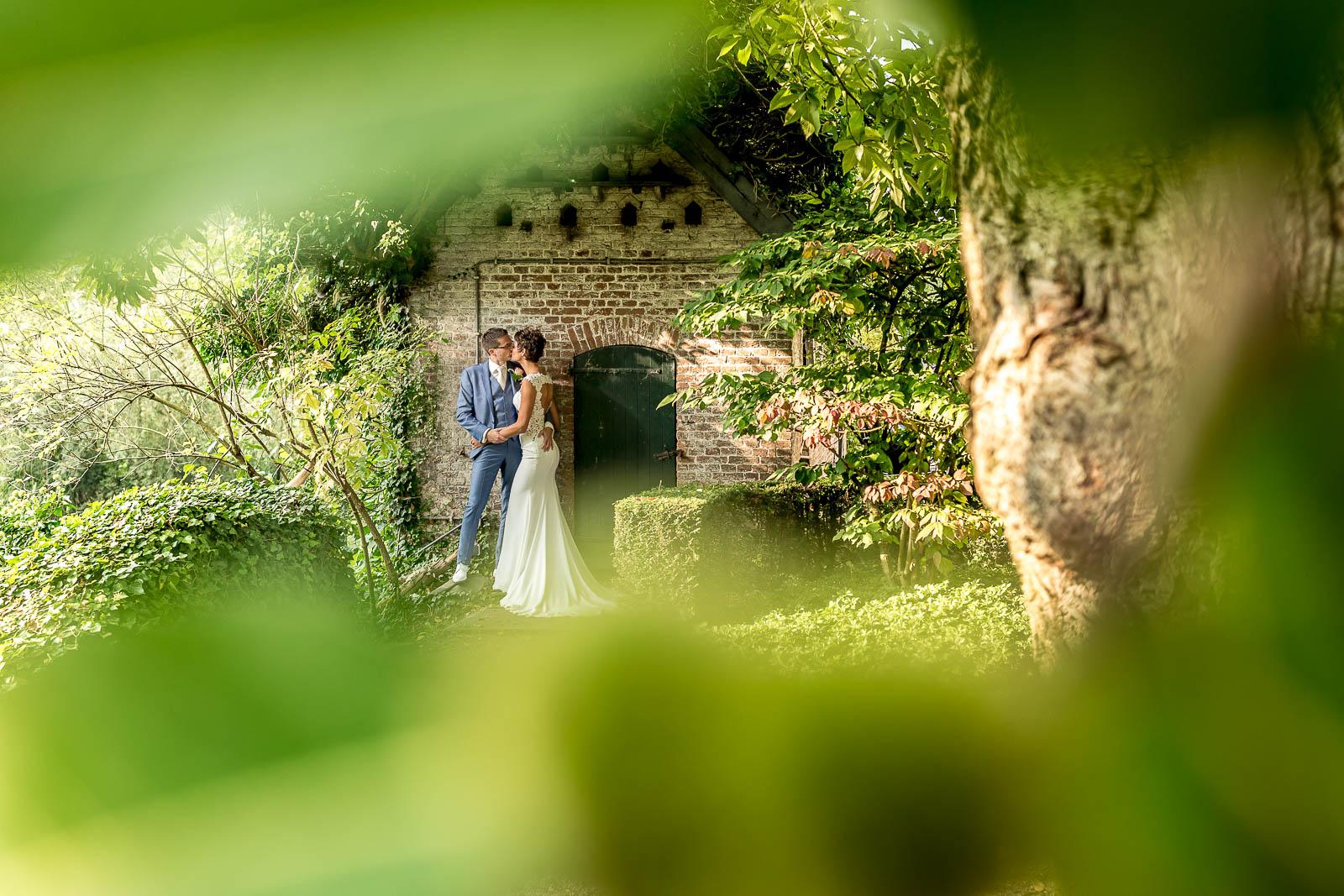 Bruidsfotografie Slot Doddendael   Martijn & Judith