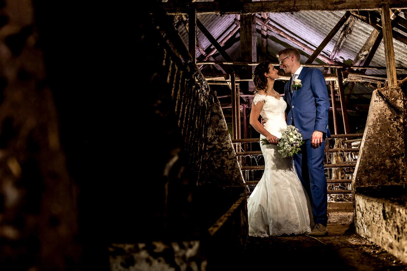Bruidsfotografie Kasteel Doorwerth   Ben & Gerlinda
